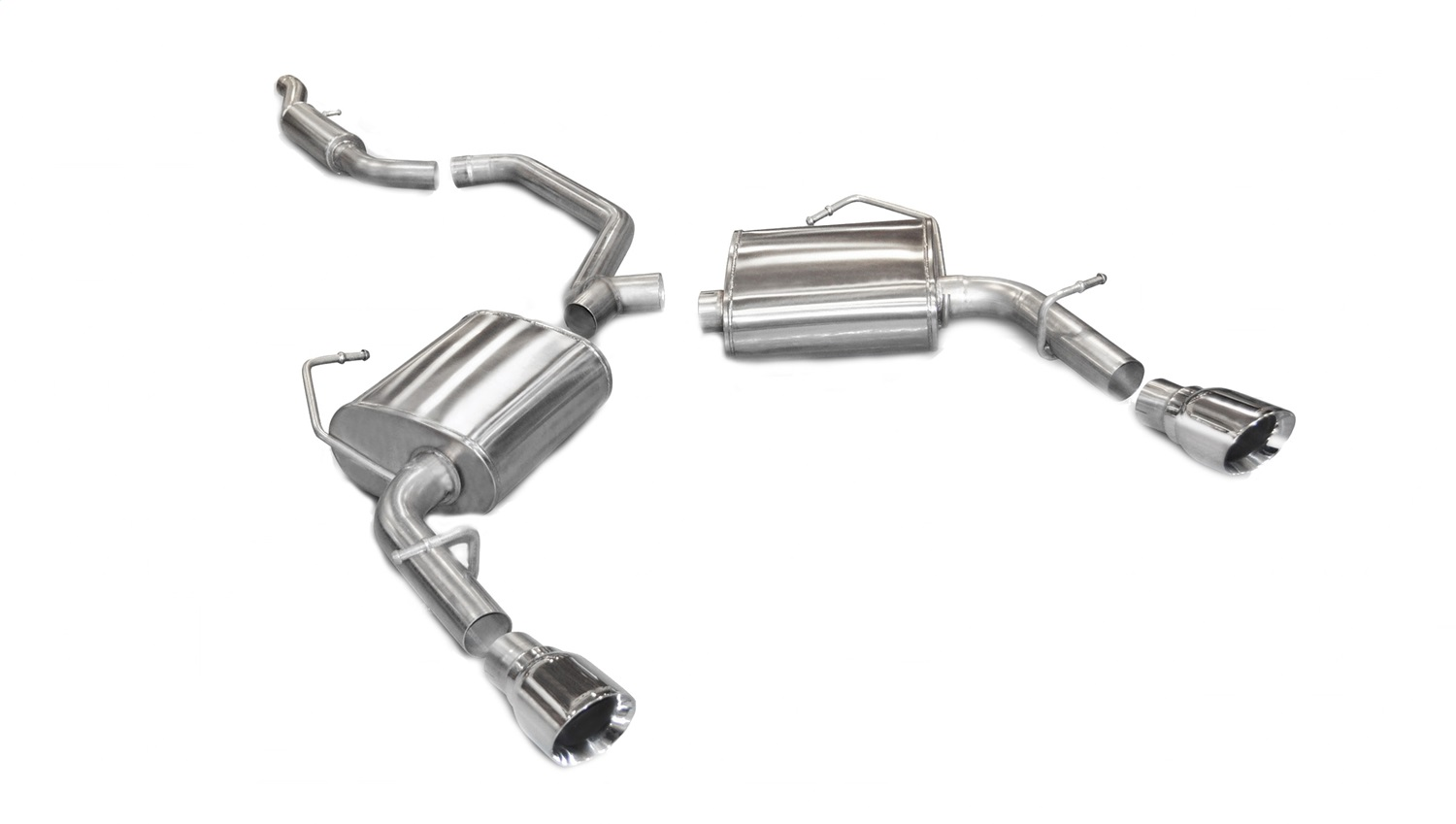 Corsa Performance 14413 Sport Cat-Back Exhaust System Fits 11-14 200 Avenger
