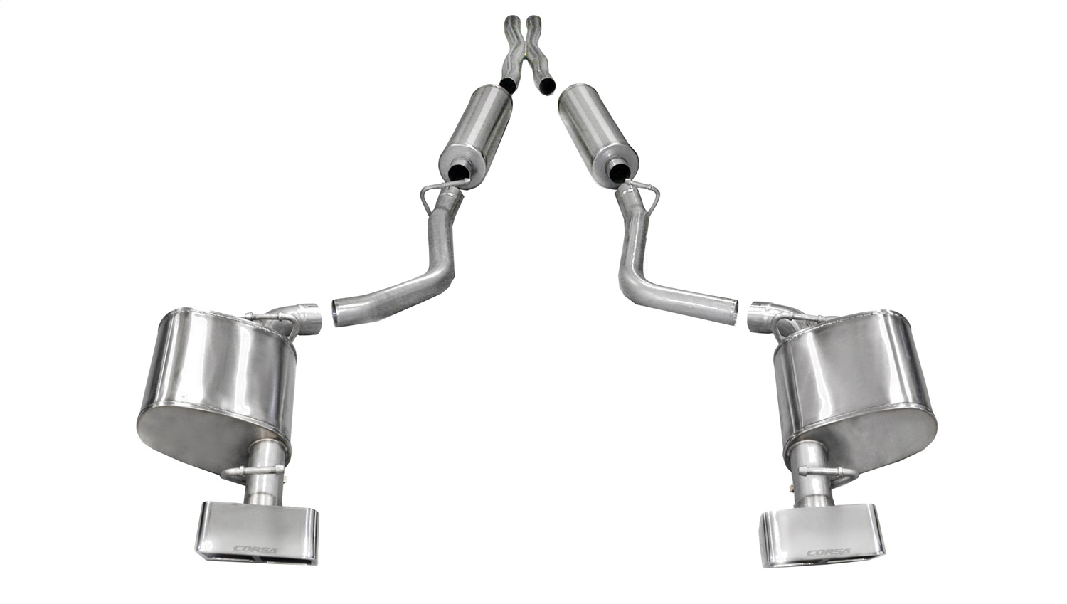 Corsa Performance 14529 Xtreme Cat-Back Exhaust System Fits 11-14 Challenger
