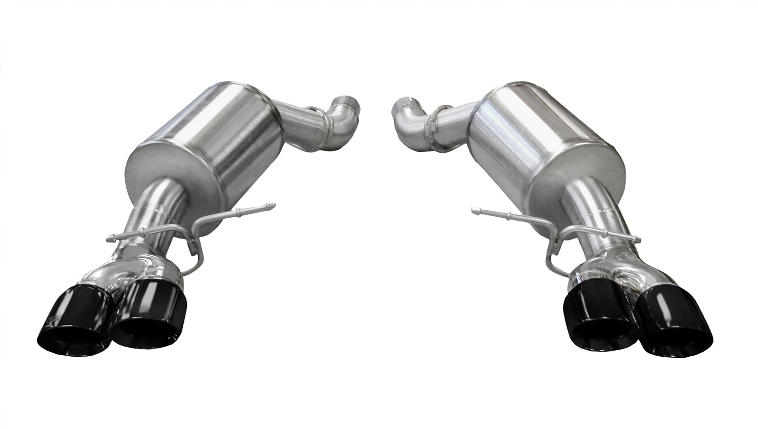 Corsa Performance 14556BLK Sport Axle-Back Exhaust System Fits 06-10 M5
