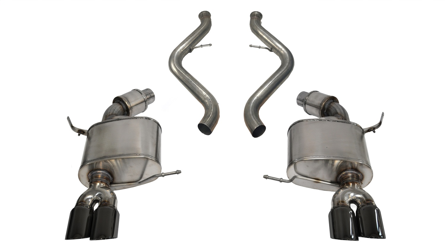 Corsa Performance 14569BLK Sport Cat-Back Exhaust System Fits 08-11 M3
