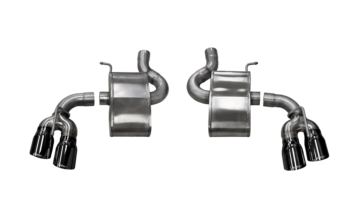 Corsa Performance 14786BLK Sport Axle-Back Exhaust System Fits 16-19 Camaro