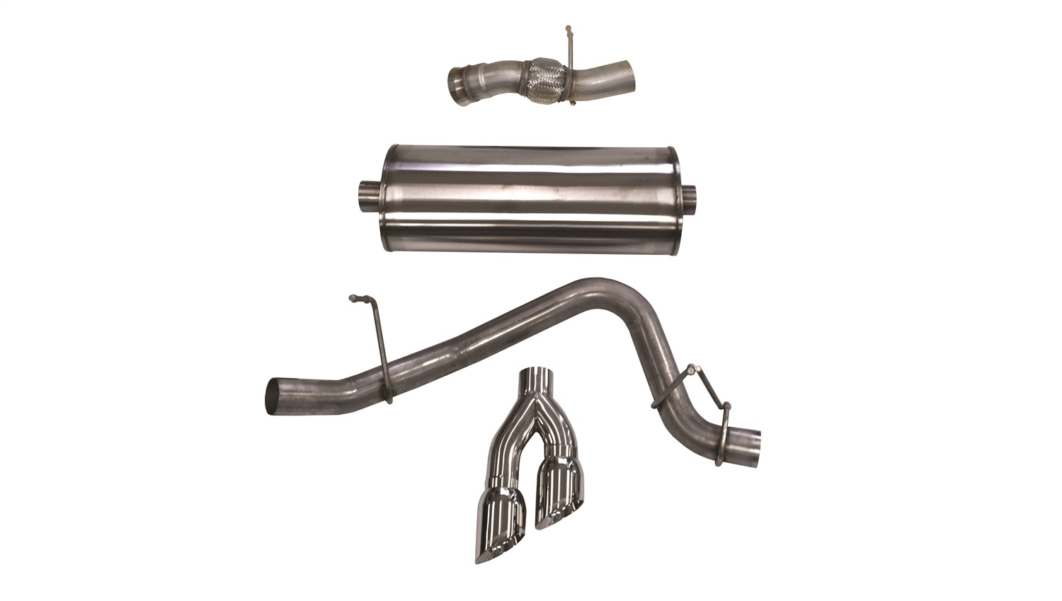 Corsa Performance 14826 Sport Cat-Back Exhaust System
