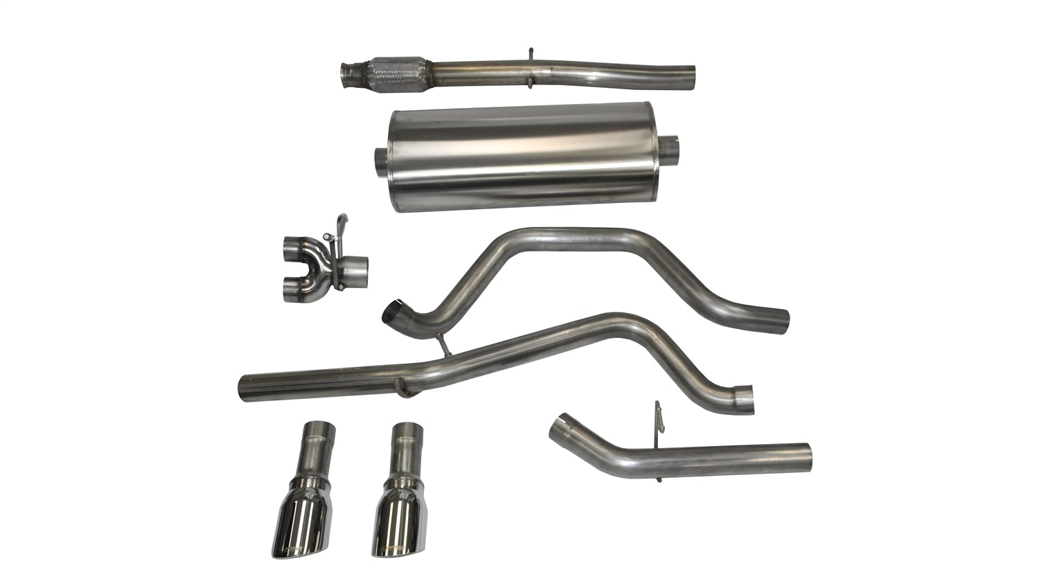Corsa Performance 14869 Sport Cat-Back Exhaust System