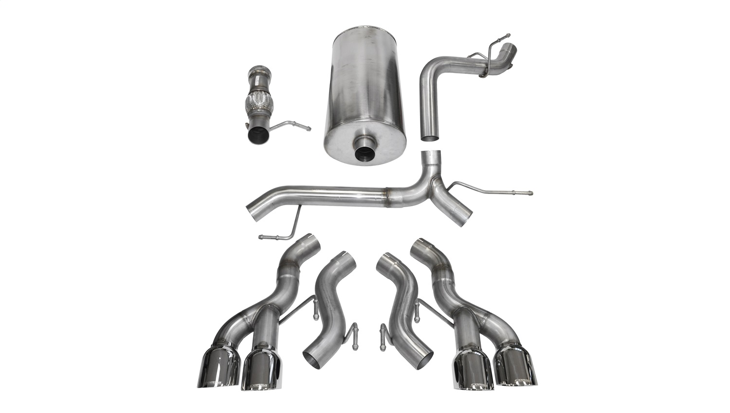 Corsa Performance 14886 Sport Cat-Back Exhaust System Fits 12-14 Escalade