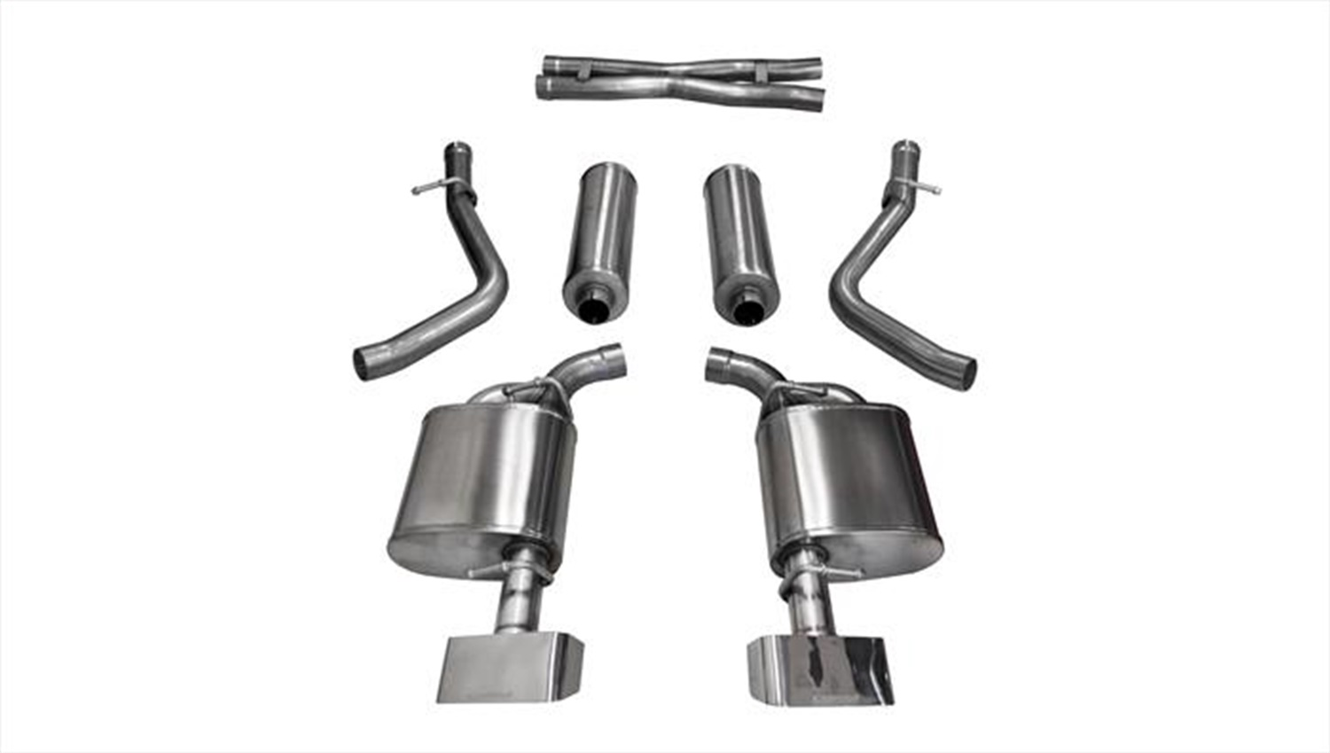 Corsa Performance 14974 Sport Cat-Back Exhaust System Fits 15-16 Challenger