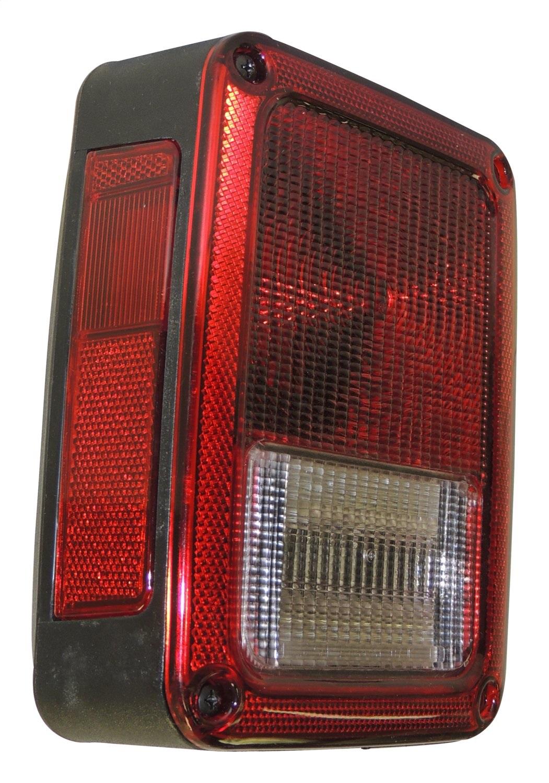 Crown Automotive 55077891AC Tail Light Assembly Fits 07-18 Wrangler (JK)
