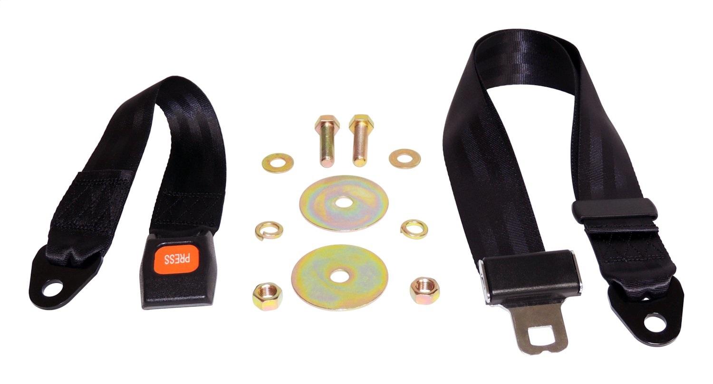 Crown Automotive BELT1B Seat Belt Fits 76-95 CJ5 CJ7 Scrambler Wrangler