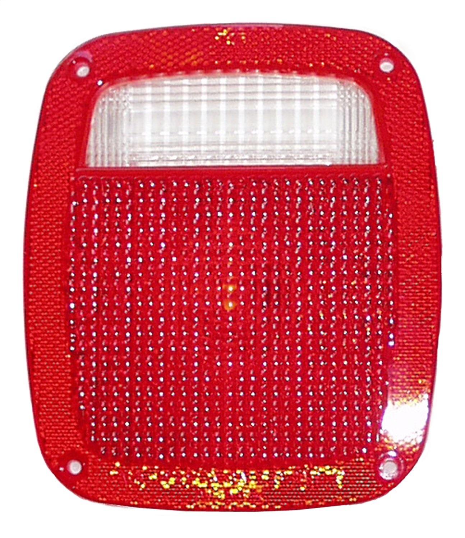 Crown Automotive J8129642 Tail Light Lens Fits CJ5 CJ7 Scrambler TJ Wrangler