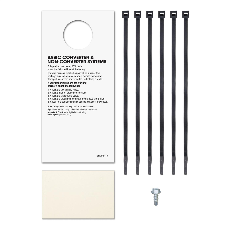 Sentinel CURT 55318 Custom Wiring Harness Fits 84-91 S10 Blazer