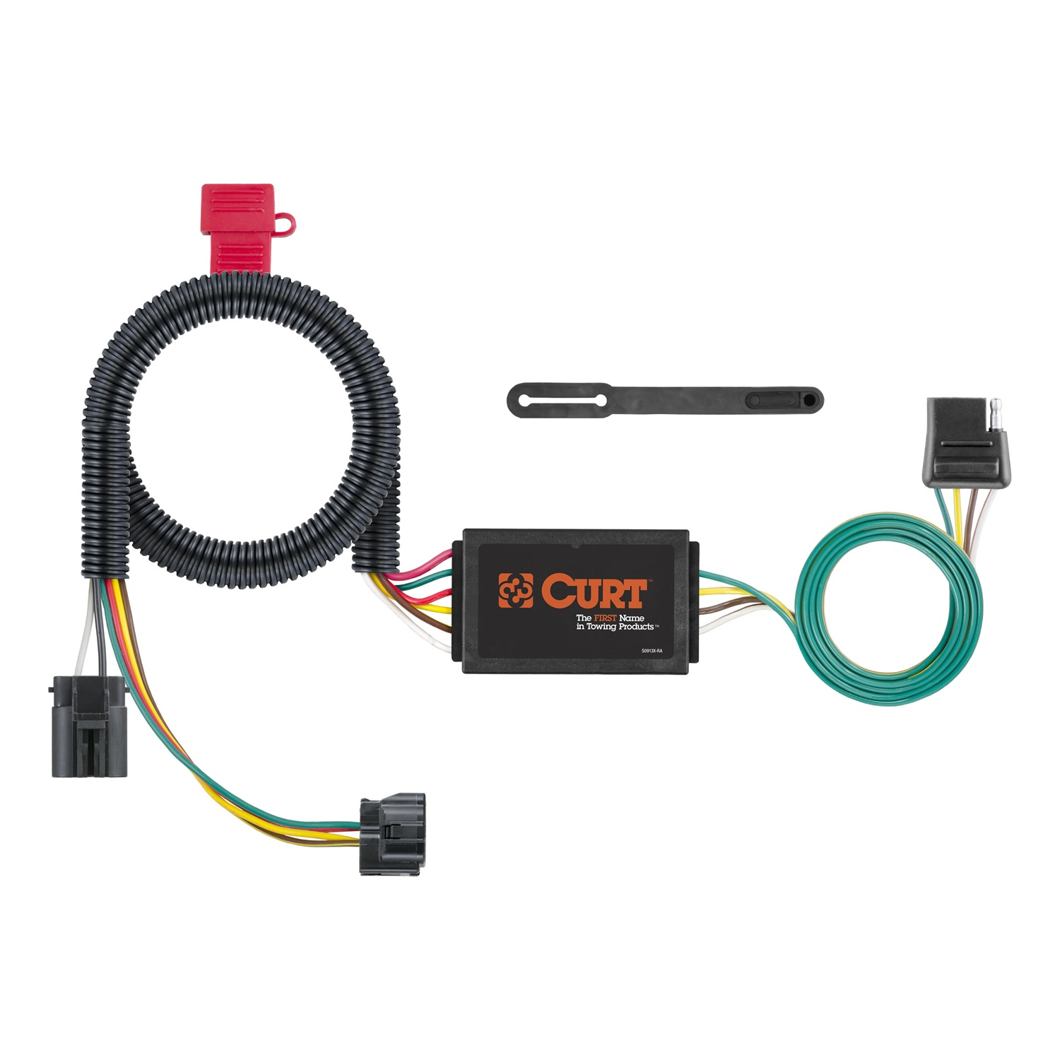 Curt Trailer Hitch Wiring Harness Diagrams Jeep Kit 4 Way Light Plug N Play With 7 Pin Diagram