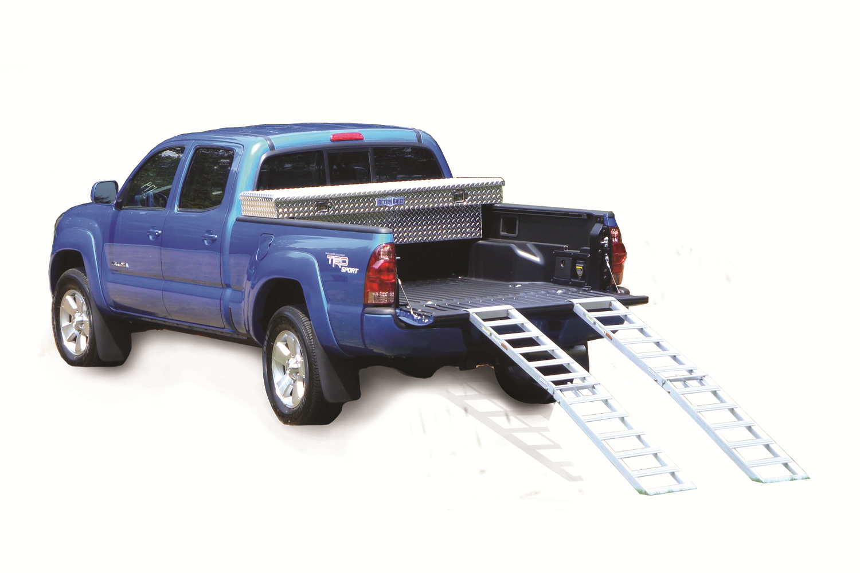 Better Built 25710005 Aluminum Center Folding Straight Loading Ramp (500 lb)-51FR