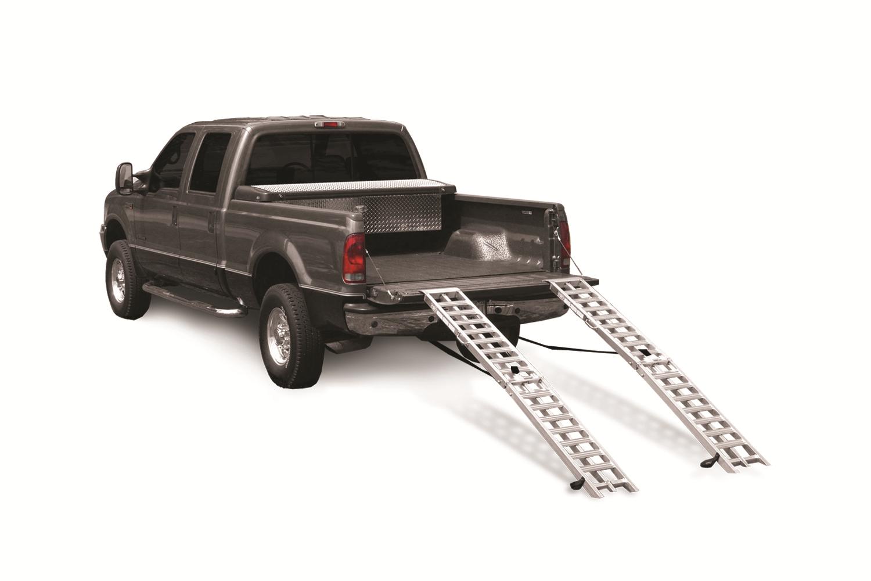 Better Built 25710193 Aluminum Heavy Duty Center Folding Straight Loading Ramp (1000 lb)-99FR