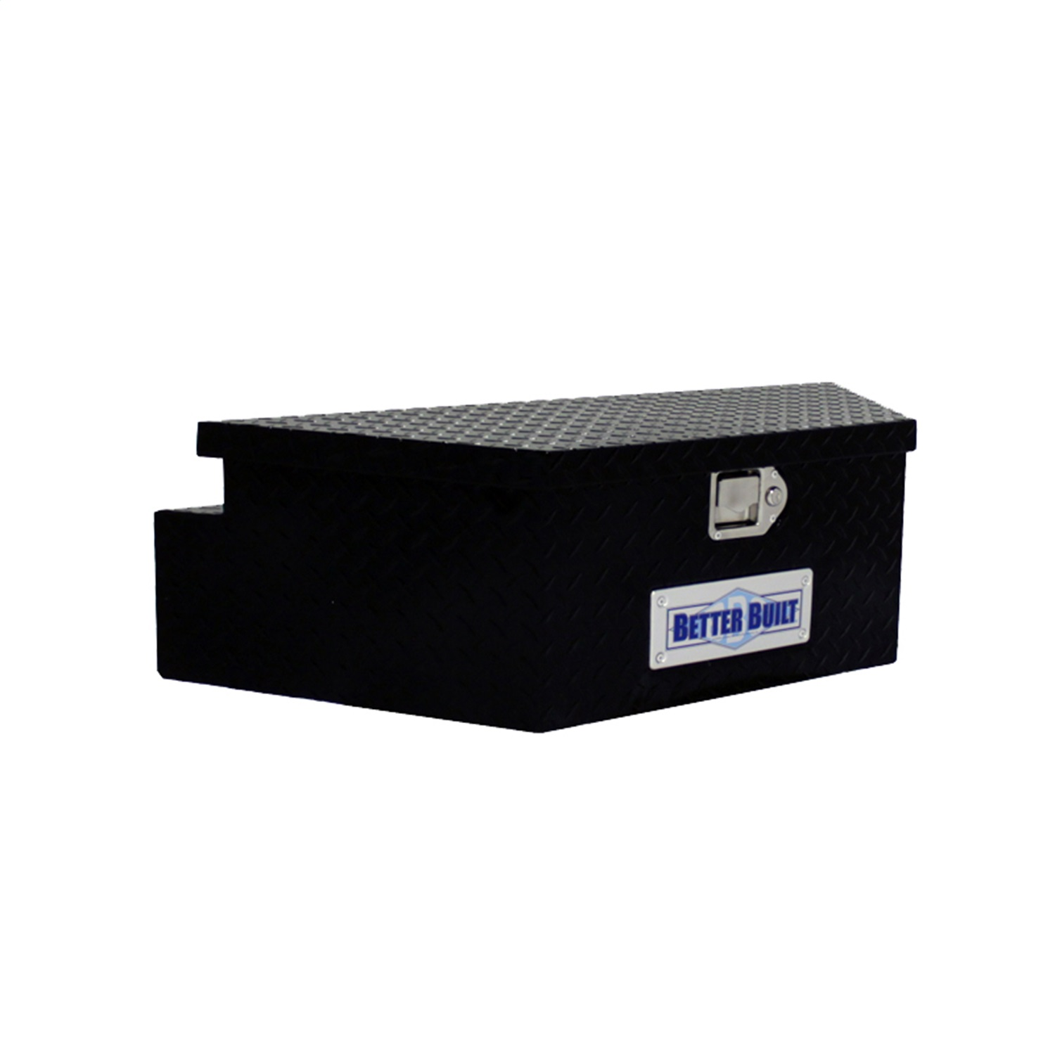 Better Built 66212321 Utility Trailer Tongue Tool Box; BLACK; Wide; V Shaped 39x16.5x12in.