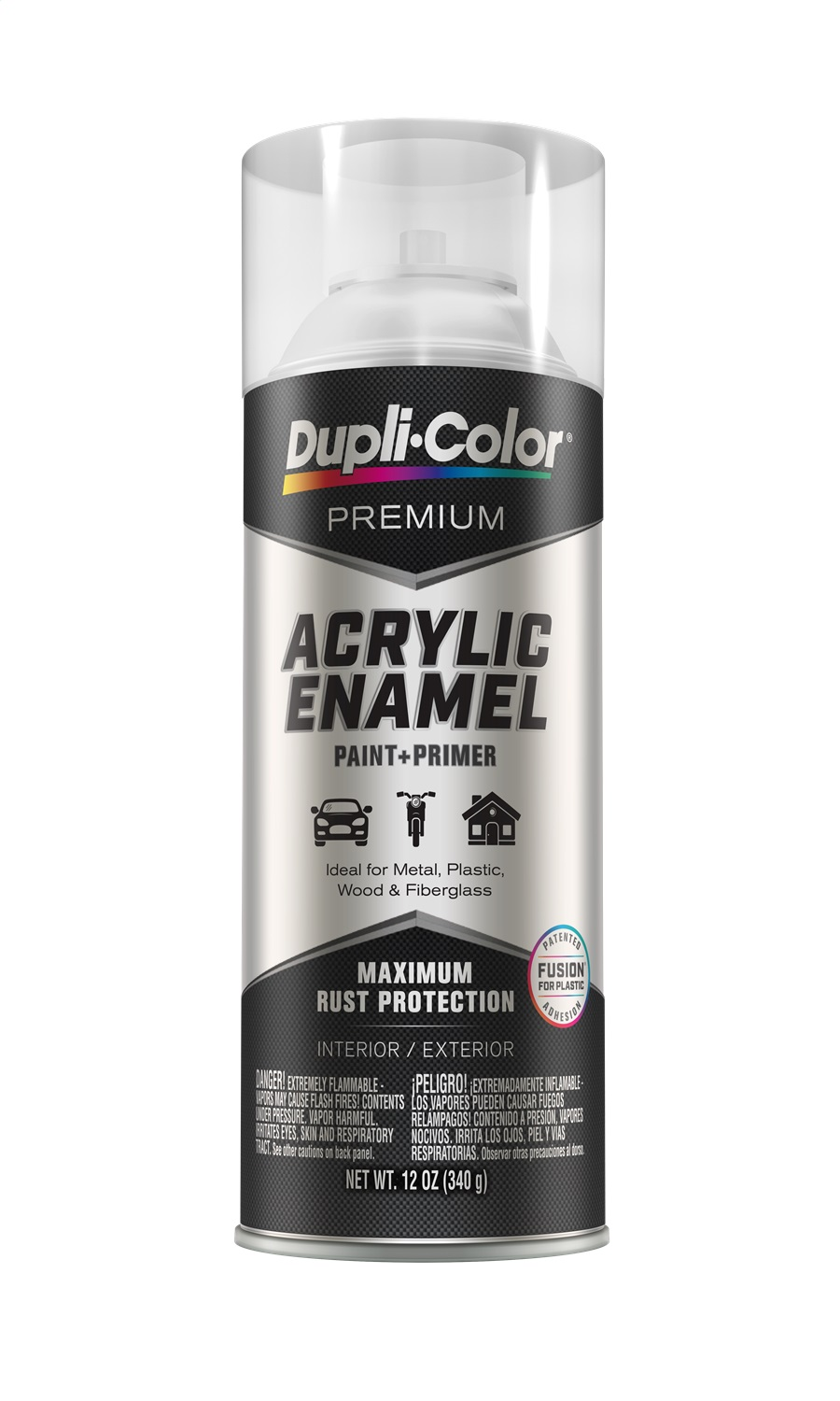Acrylic Enamel Paint >> Details About Duplicolor Pae114 Premium Acrylic Enamel Spray Paint Gloss Clear 12 Oz