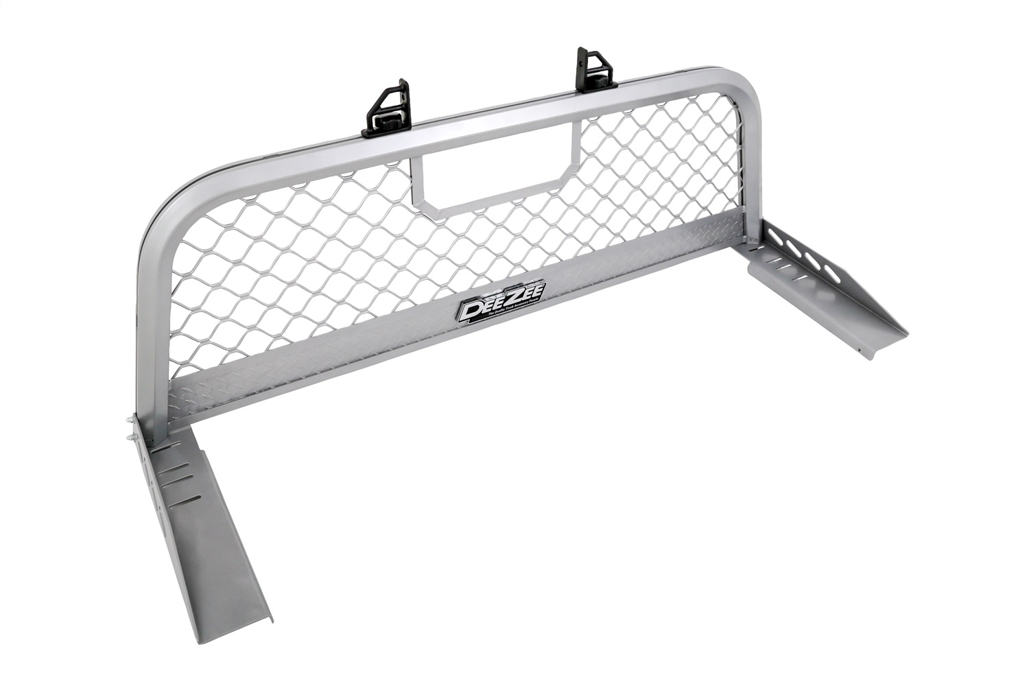 Cab Rack, Silver, Aluminum, Heavy Duty Ultra Mesh, Incl. Mounting Brackets