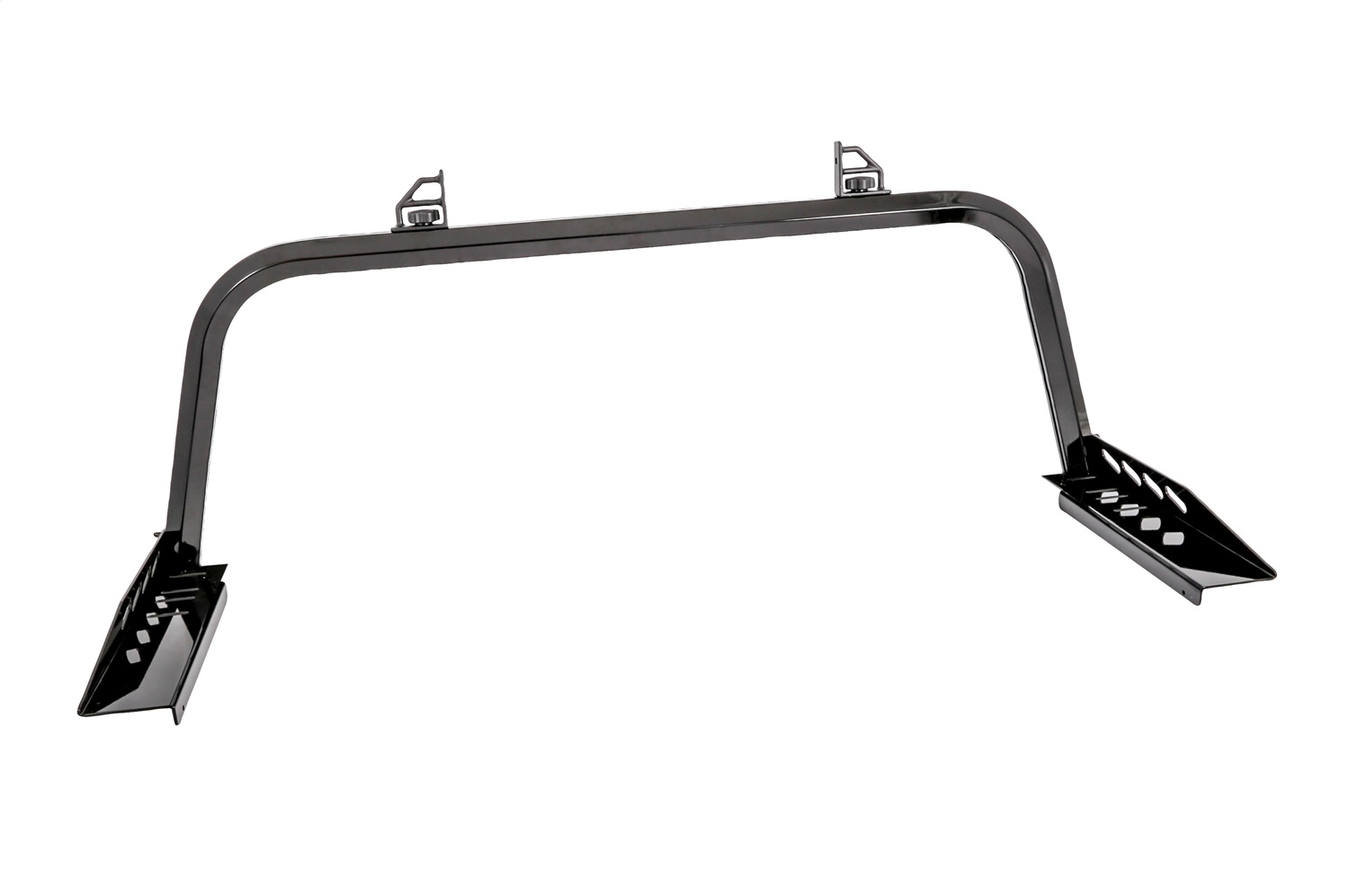Cab Rack, Gloss Black, Rear Only, Aluminum, Incl. Mounting Brackets