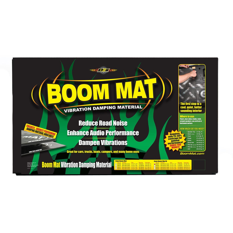 "4.2 sq ft 2 Sheets DEI 050221 Boom Mat XL 4mm Damping Material 12.5/"" x 24/"""