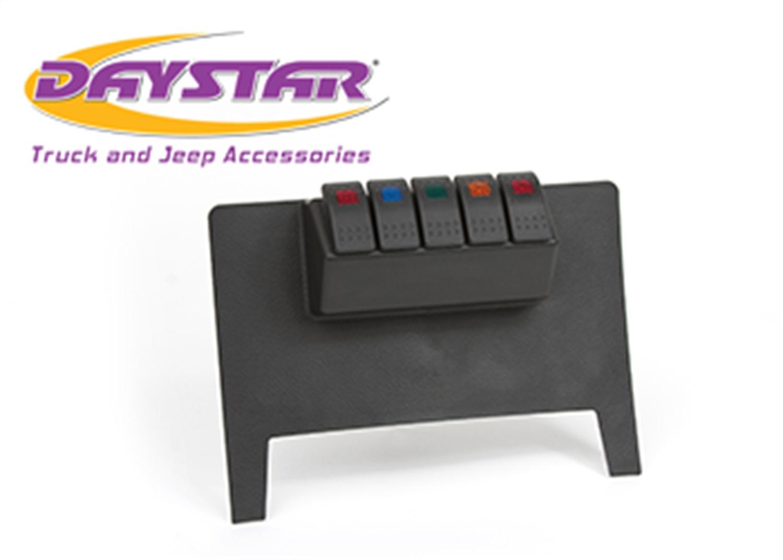 Daystar KJ71038BK Dash/Switch Panel