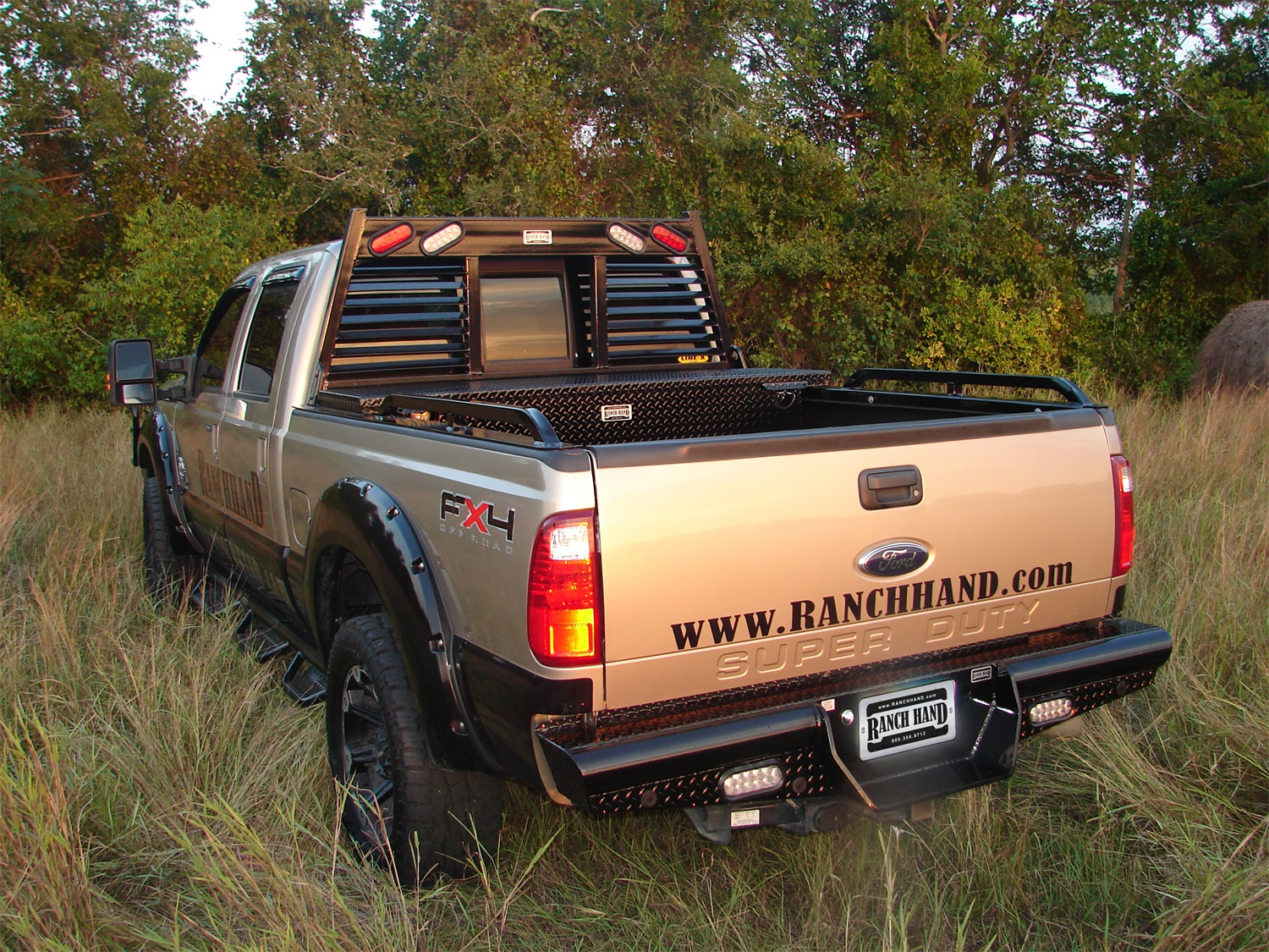 Image is loading ranch hand bbf080blsl legend series rear bumper