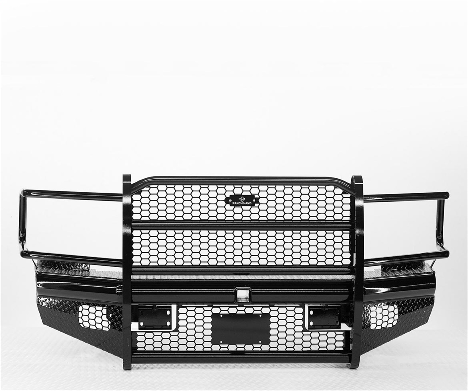 Legend Series Front Bumper, Retains Factory Tow Hooks And Factory Fog Lights