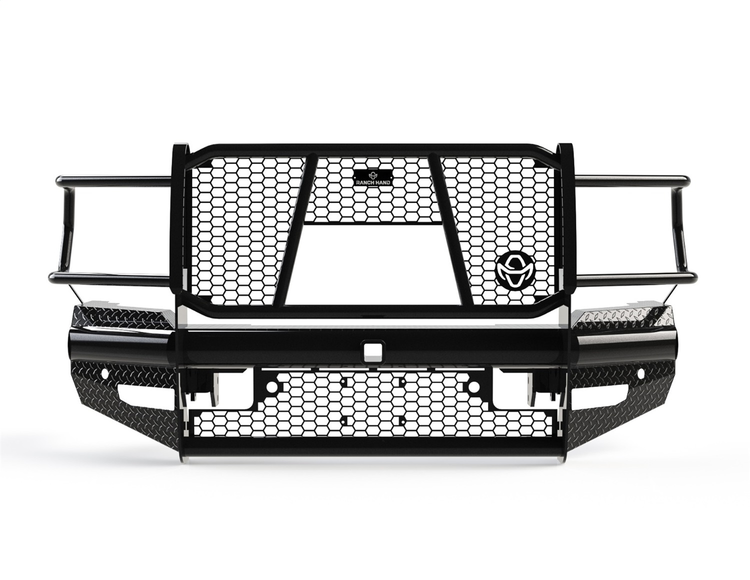Legend Series Front Bumper, Retains Factory Tow Hooks and Fog Lights, w/ Assist Front Park, Works w/ Sensors And Accomodates Front Camera Cutout