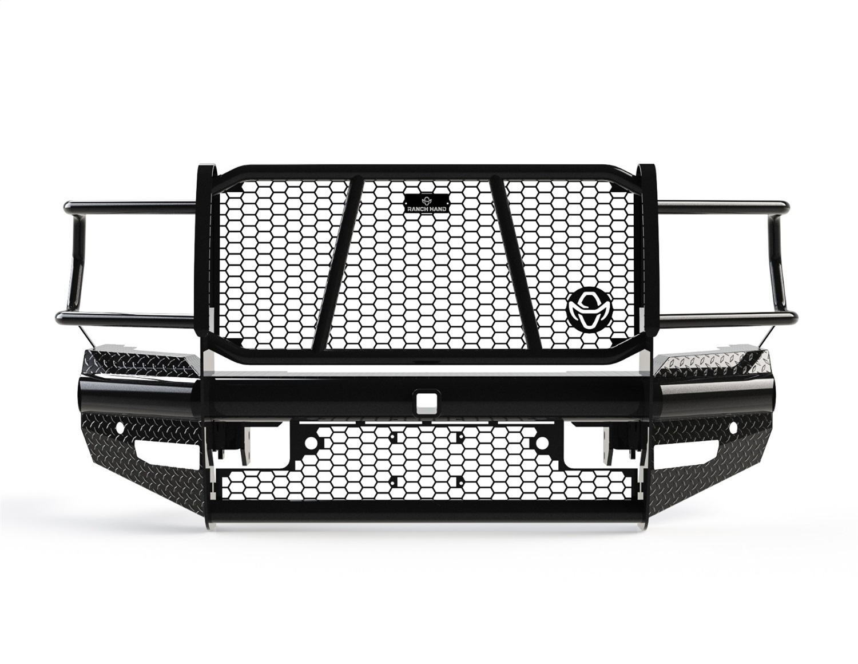 Legend Series Front Bumper, Retains Factory Tow Hooks and Fog Lights, w/ Assist Front Park