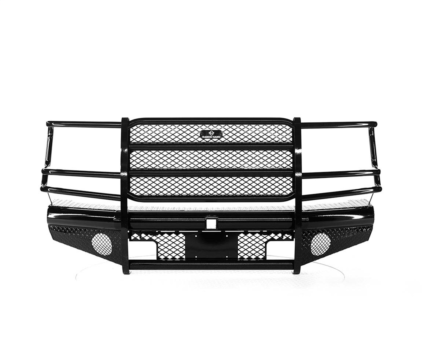 Legend Series Front Bumper, Retains Factory Tow Hook And Fog Lights
