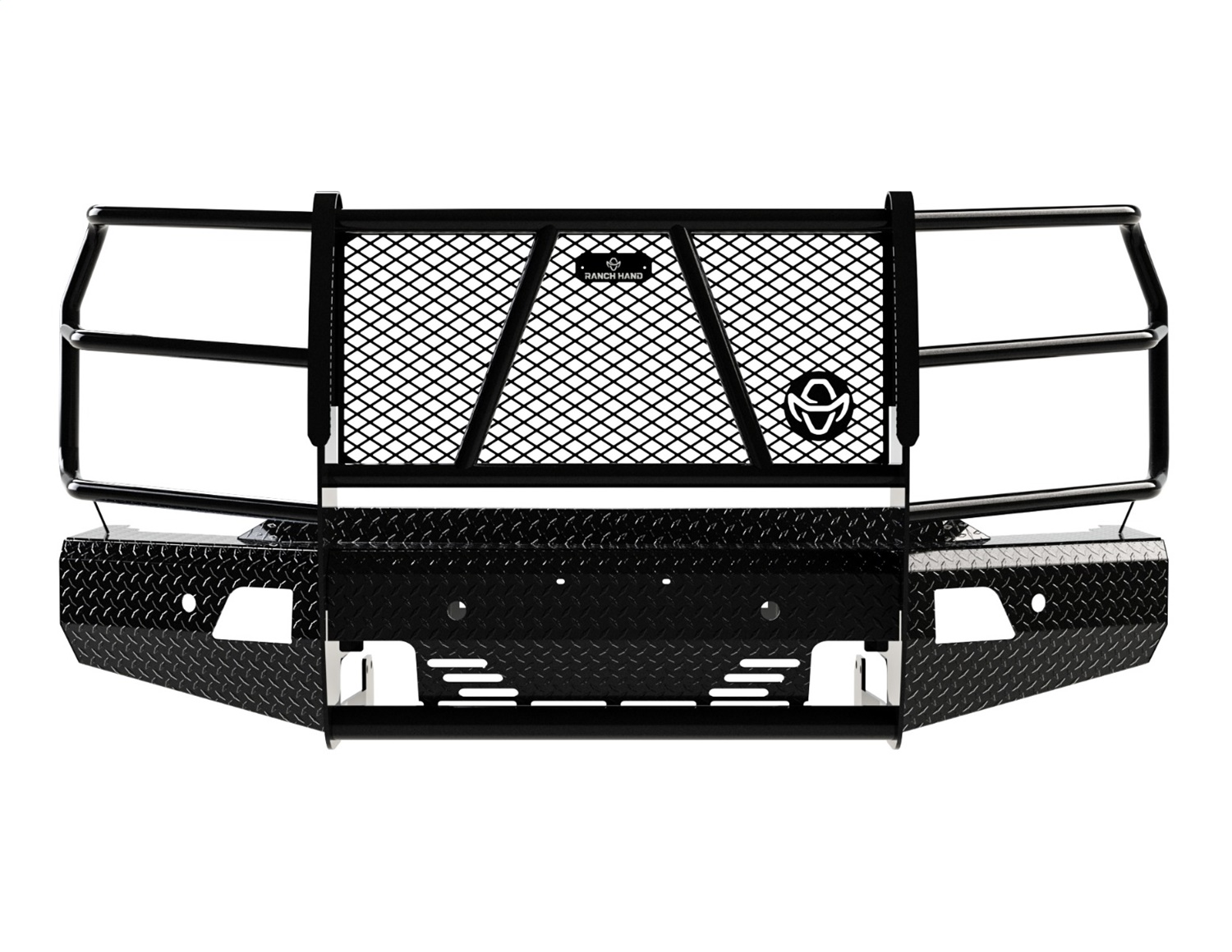 Summit Series Front Bumper, Retains Factory Tow Hooks and Fog Lights, w/ Assist Front Park
