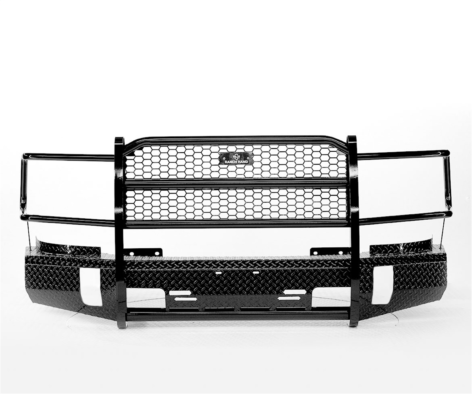 Summit Series Front Bumper, Retains Factory Tow Hook And Fog Lights