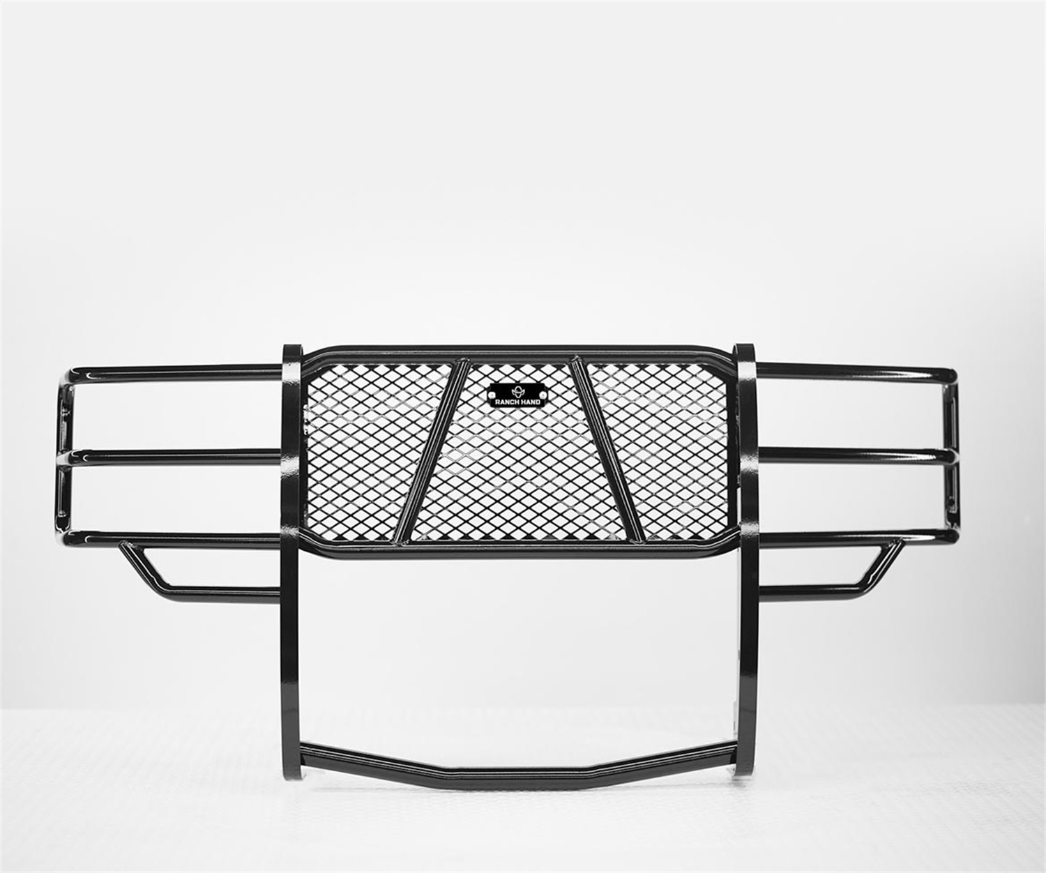 Legend Series Grille Guard, Retains Factory Tow Hook, For Trucks w/o Front Bumper Sensors
