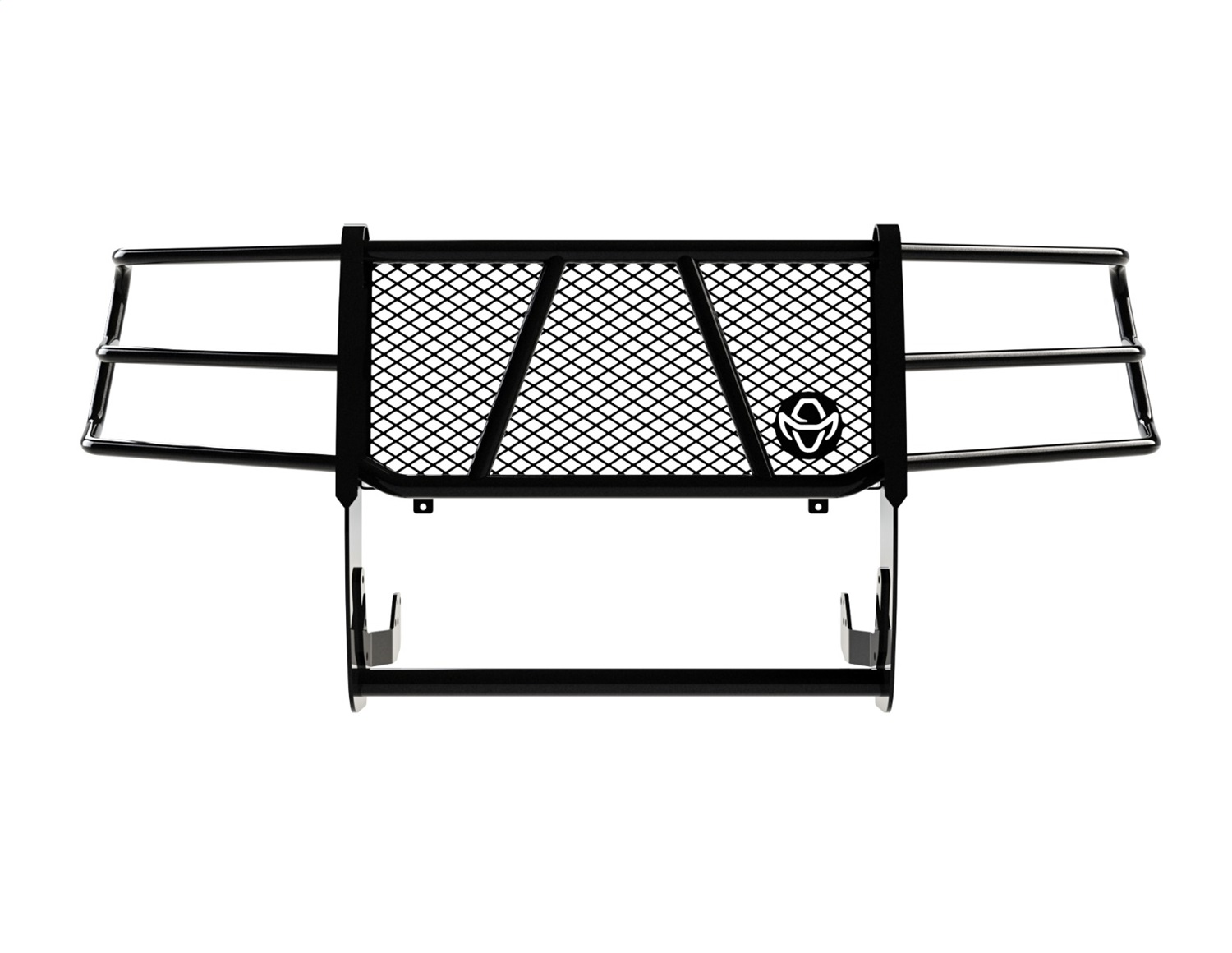 Legend Series Grille Guard, Retains Factory Tow Hook And Fog Lights, Must Use PSC19HBL1 For Sensors