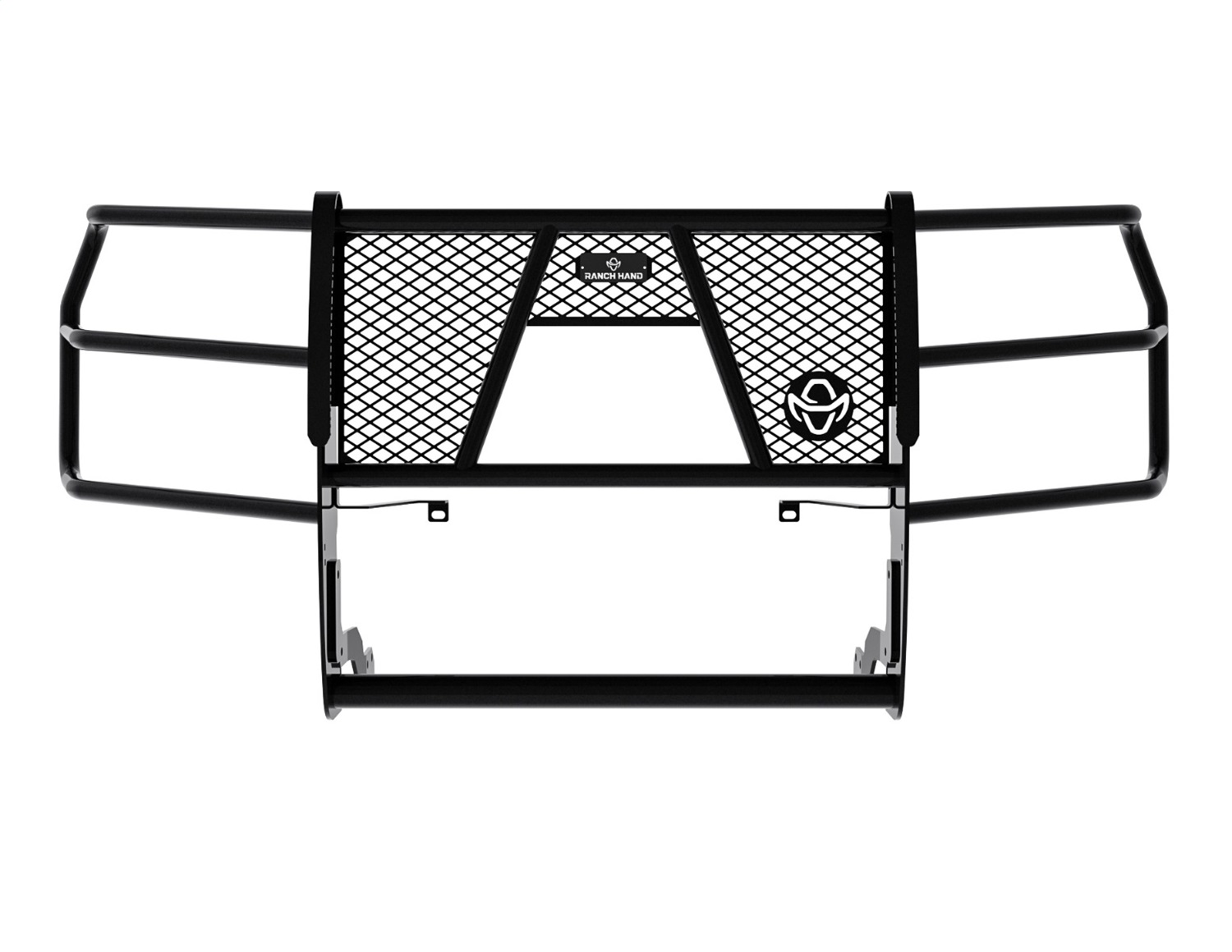 Legend Series Grille Guard, Retains Factory Tow Hook And Fog Lights, Must Use PSG19HBL1 For Sensors