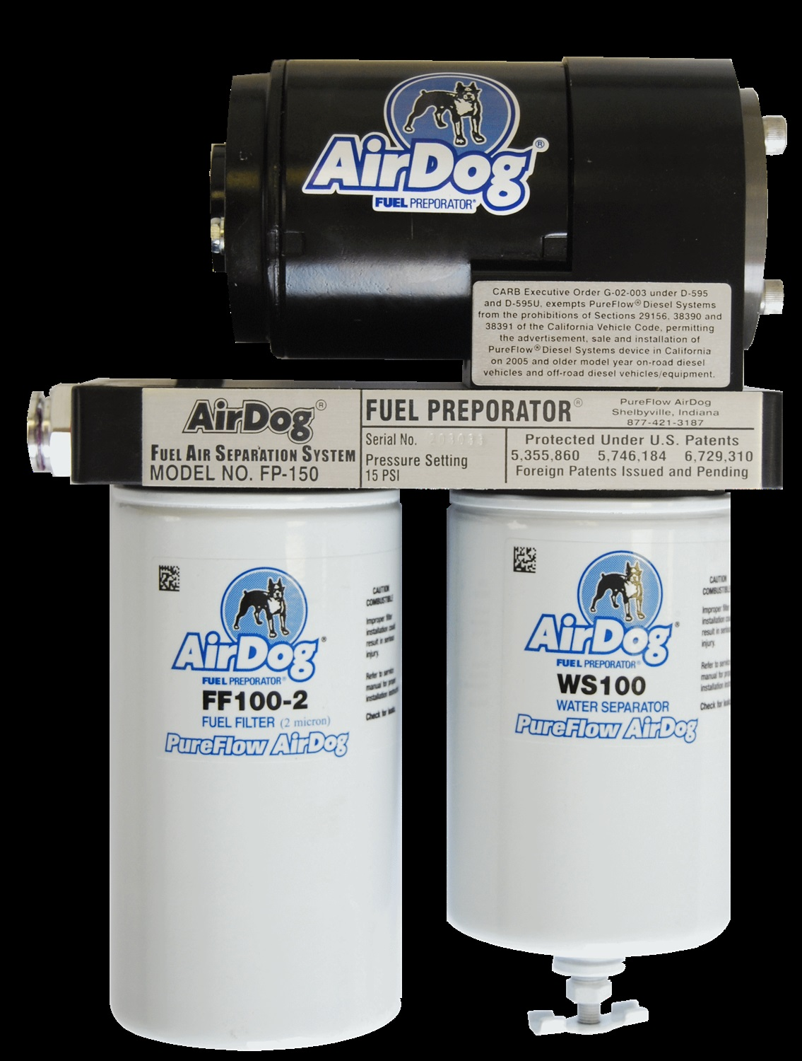 Purchase Airdog A4spbd337 Fuel Air Separation Dual Feed Pump Filters Illustration