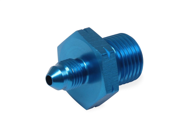 Earls Plumbing 9919BFJERL Straight Oil Pressure Gauge AN to Metric Adapter