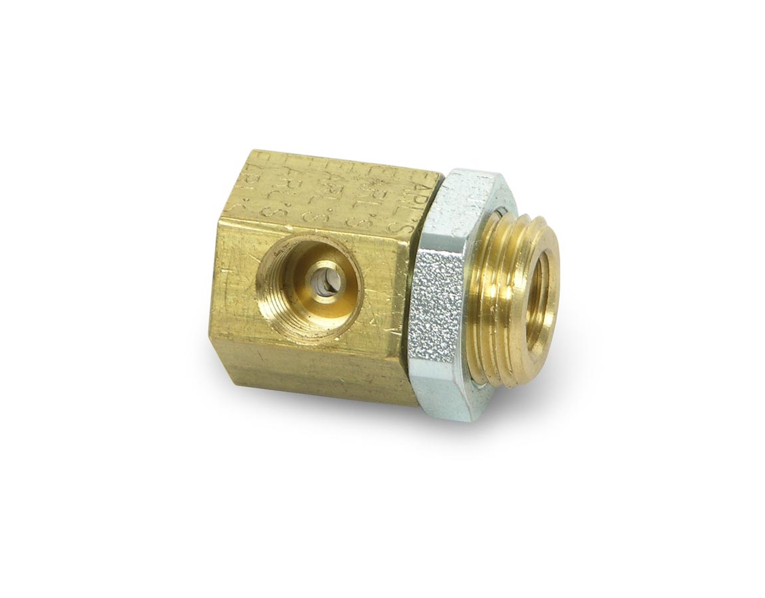 Earls Plumbing 972058ERLP Brass Inverted Flare Brake Adapter Tee
