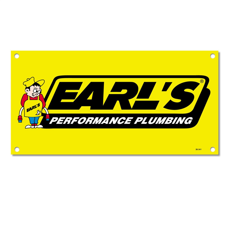 Earls Plumbing 36-341 Earls Vinyl Banner