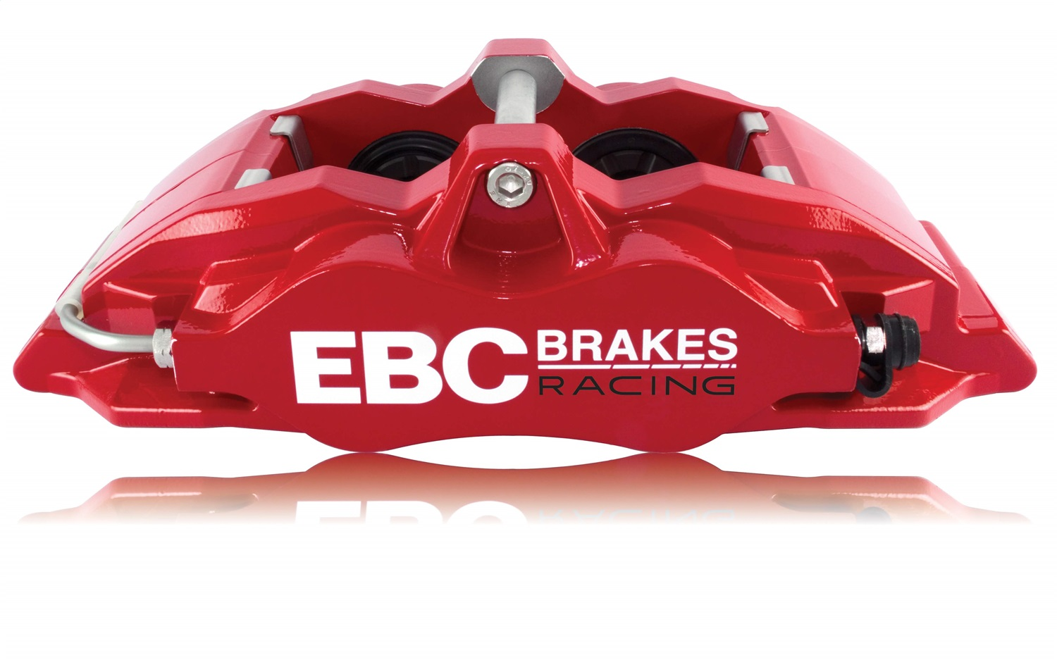 EBC Brakes BC4101RED-R Apollo-4 Brake Calipers Fits 14-17 Fiesta