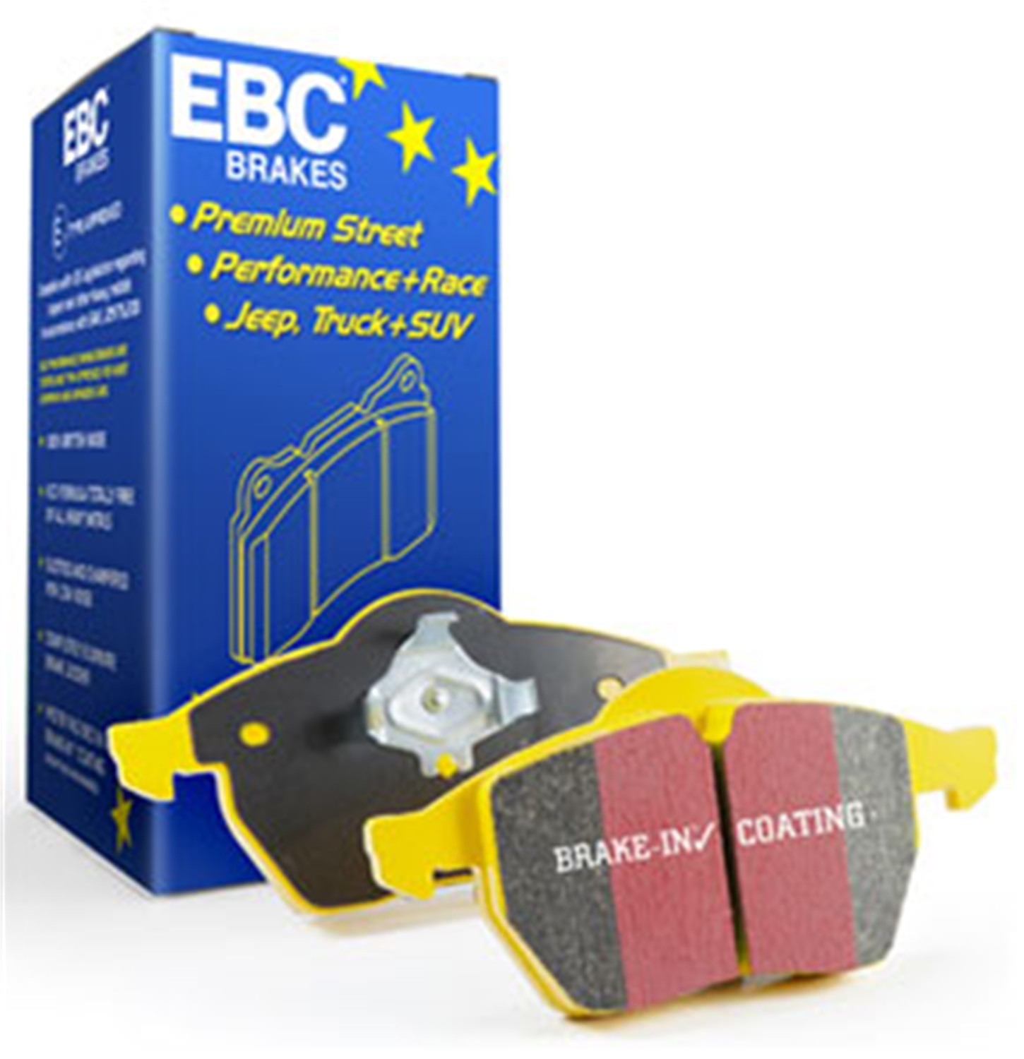 ebc disc brakes dp41676r yellowstuff street and track brake pads 03 05 aviator cad. Black Bedroom Furniture Sets. Home Design Ideas