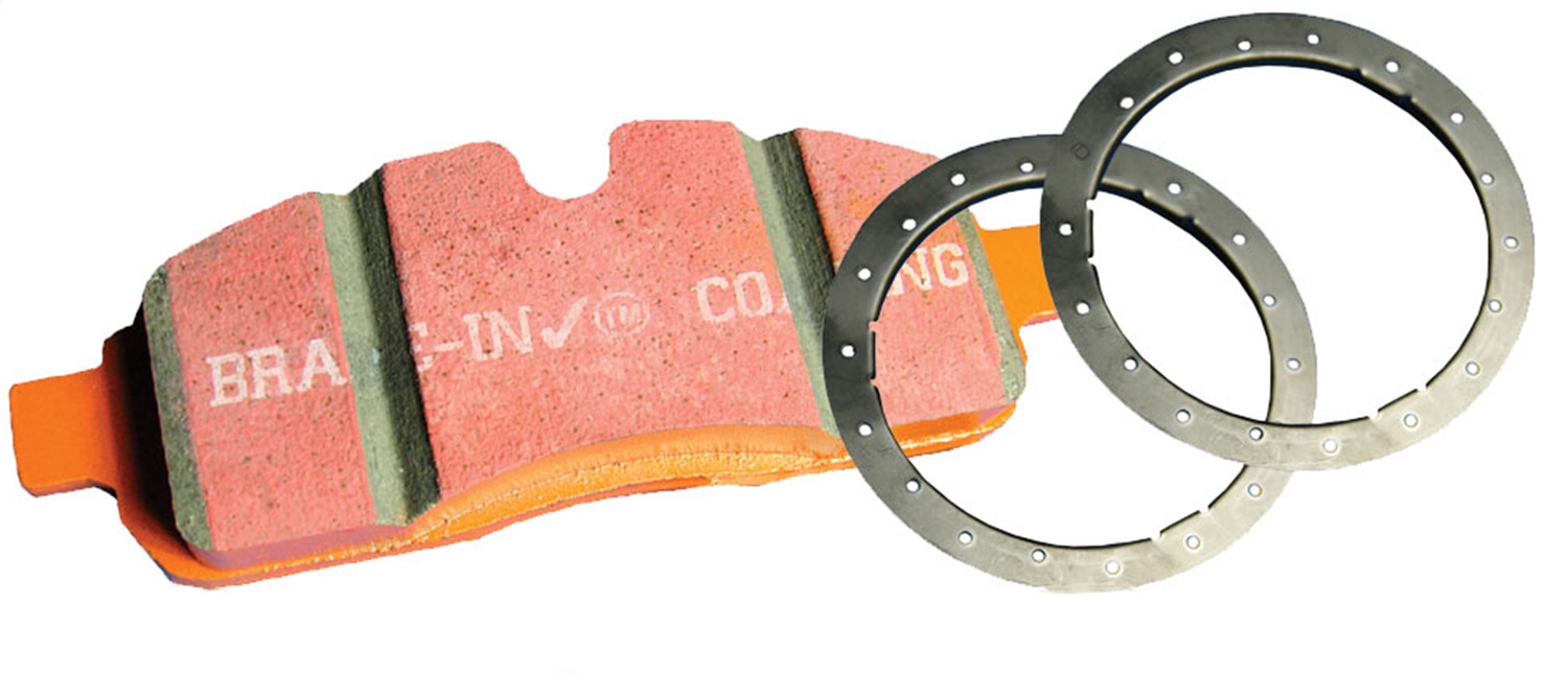 EBC Brakes ED91891 EBC Truck/Jeep And SUV Extra Duty Brake Pads Fits 12-18 F-150