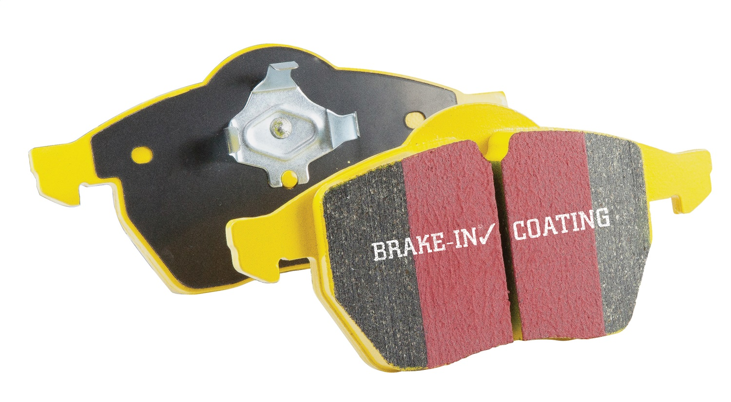 EBC Brakes DP41868R Yellowstuff Street And Track Brake Pads Fits 10-14 Mustang