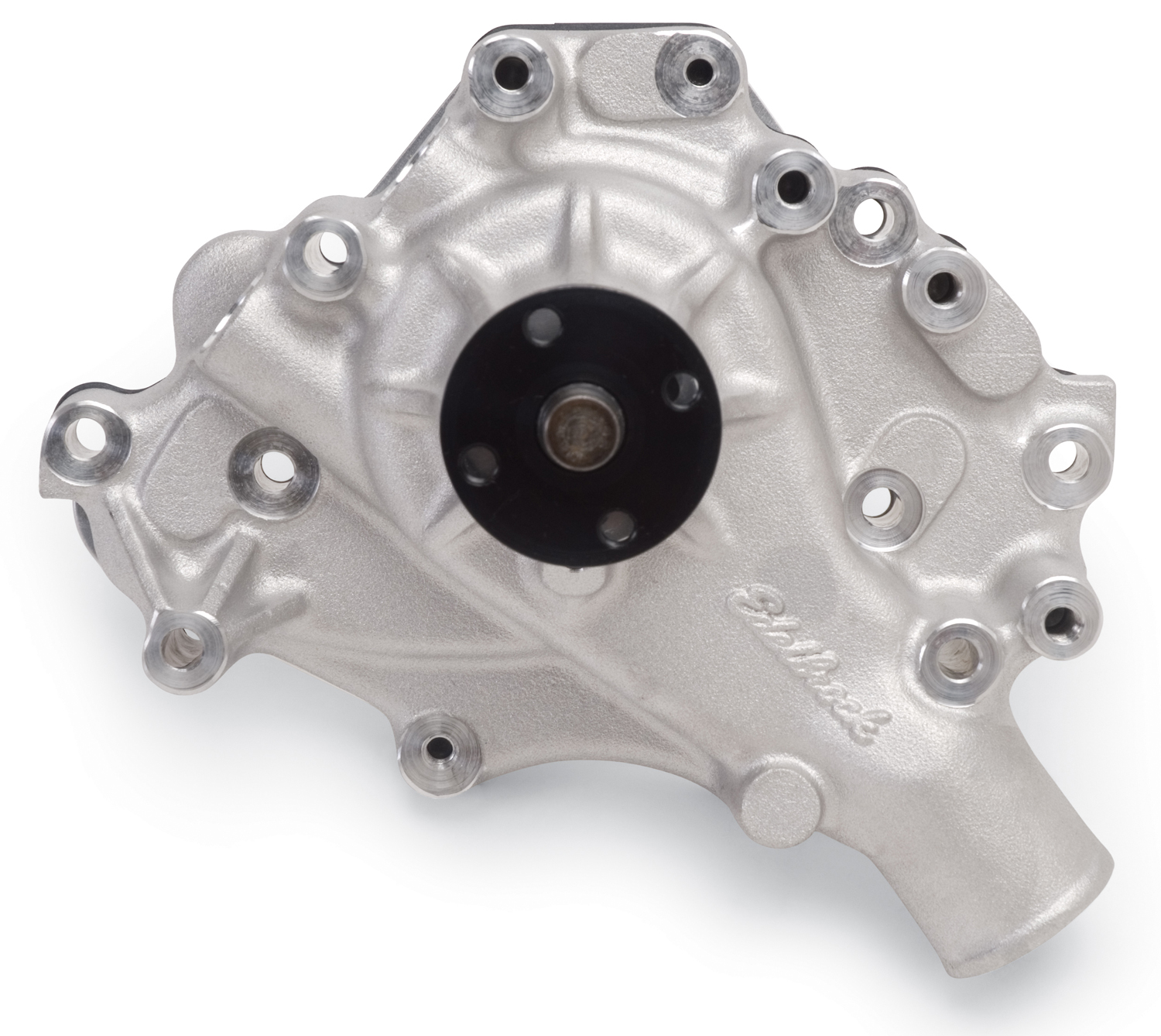 Edelbrock 8843 Victor Series Water Pump Ford 302//351 w// Left Inlet STD Rotation