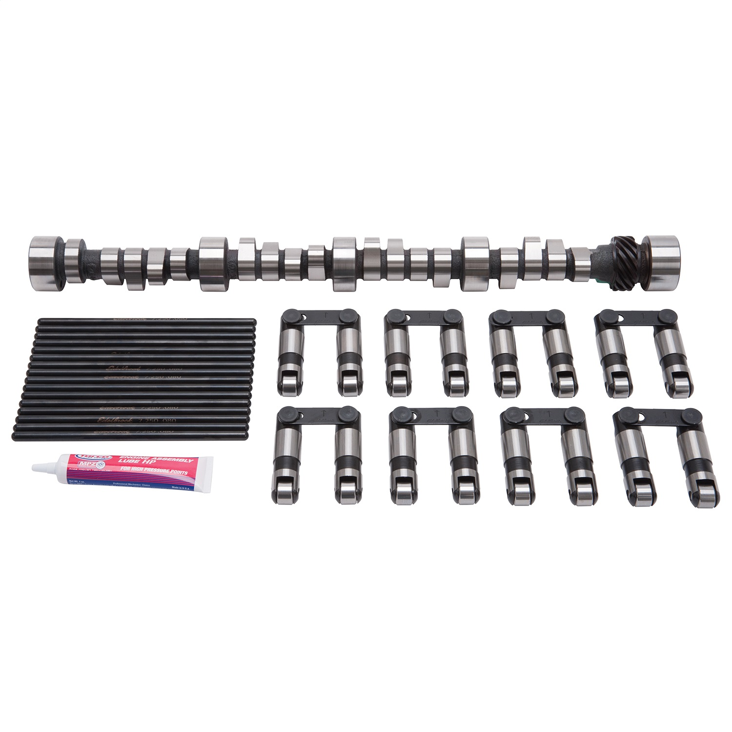 Edelbrock 22015 CAM/LIFTER/PUSHROD KIT PERF RPM HYD ROLLER SBC 1957-86
