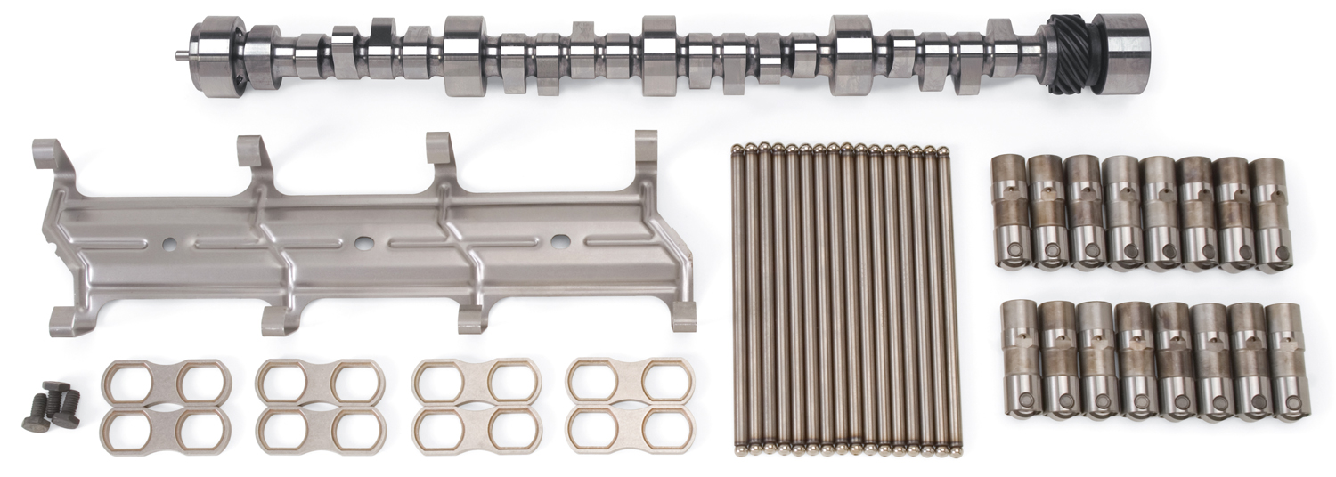 Edelbrock 22076 CAMSHAFT LIFTER & PUSHROD KIT PERF RPM HYD ROLLER SBC 1987-LATER W/THRUST PLATE