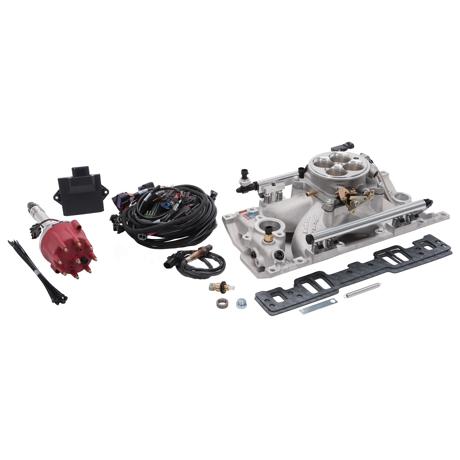 Edelbrock 357800 Pro-Flo 4 EFI Kit for Small-Block Chevy with Vortec/E-Tec Cylinder heads