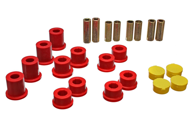 Energy Suspension 11.3105R Control Arm Bushing Set Fits 90-05 Miata