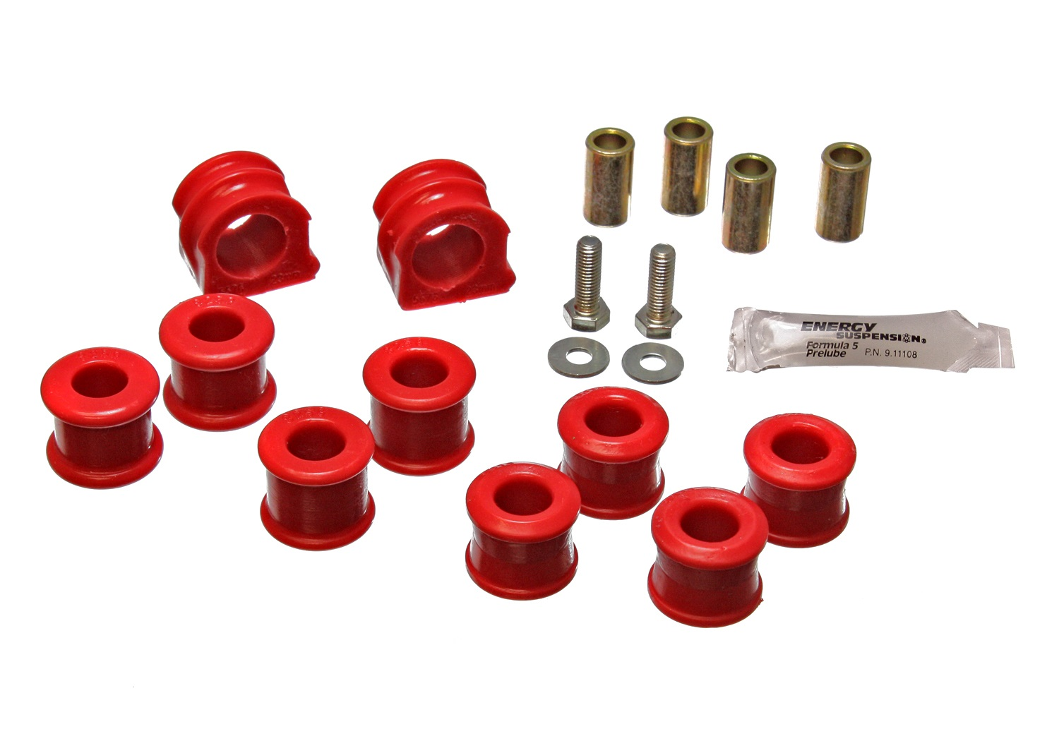 Energy Suspension 15.5106R Sway Bar Bushing Set Fits 98-06 Beetle Golf Jetta