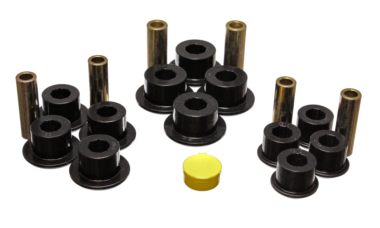 Energy Suspension 8.2101G Rear Spring and Shackle Bushing
