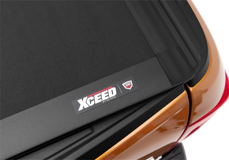 Xceed Tonneau Cover, Matte Black, Aluminum