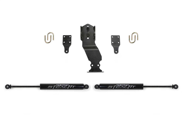 Fabtech FTS22302 Steering Stabilizer Kit Fits F-250 Super Duty F-350 Super Duty