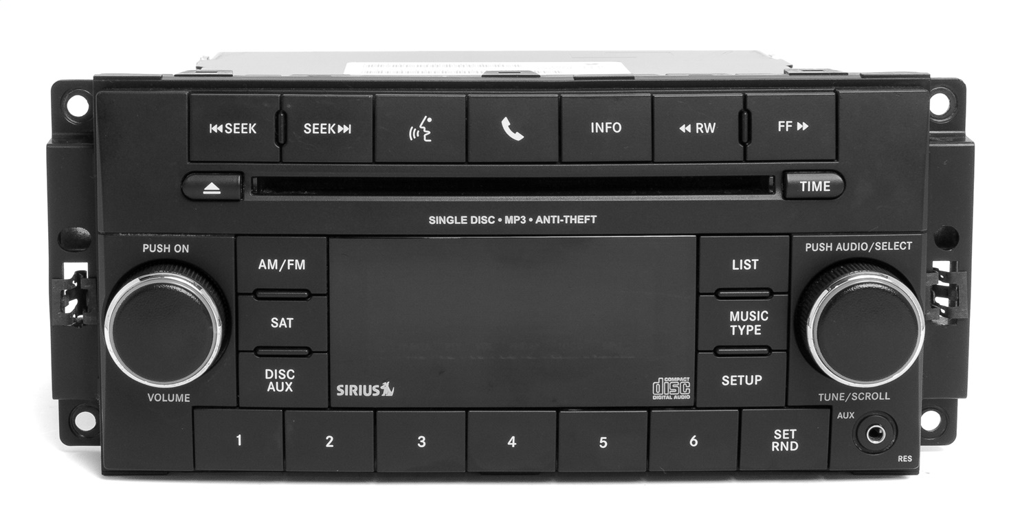 1 Factory Radio 638-11846-D AM FM XM Radio CD Player